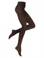 Bavlněné punčochové kalhoty 4036 hnědé č.1