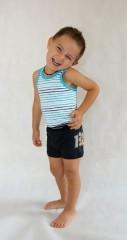Dětské boxerky modré č.1