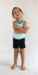 Dětské boxerky modré č.2