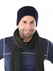 Pletená čepice NOEL černá