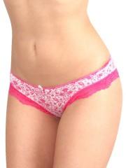 Dámské kalhotky K5720 tmavě růžové č.1