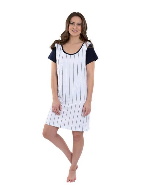 Dámské letní šaty s krátkým rukávem 203
