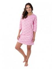 Dámská noční košile P1604 růžová č.1
