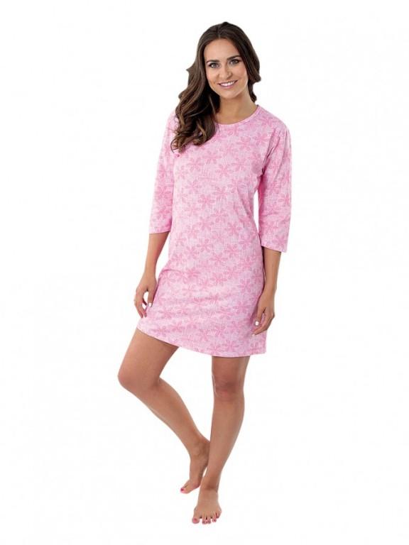 Dámská noční košile P1604 růžová
