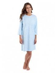 Dámská noční košile P1604 modrá č.1