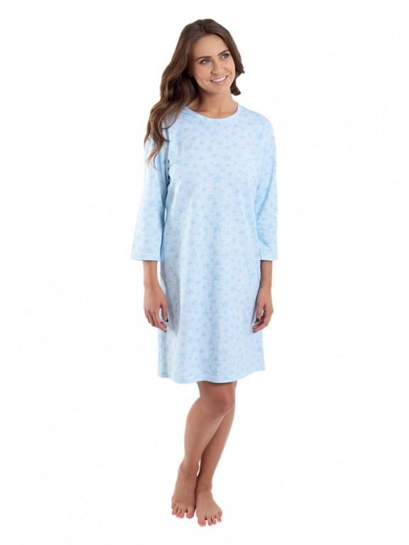 Dámská noční košile P1604 modrá