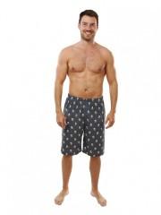 Pánské pyžamové kalhoty s pivem MARCEL modré č.1