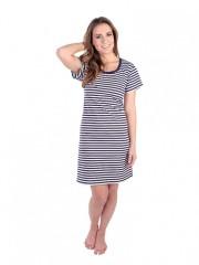 Bavlněné šaty 2 s krátkým rukávem