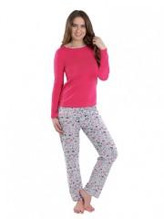 Dámské pyžamo P1424 růžové č.1