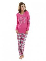 Dámské pyžamo P1423 růžové č.1