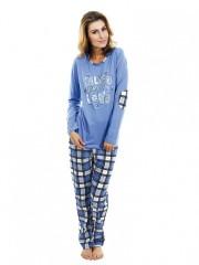 Dámské pyžamo P1423 modré č.1