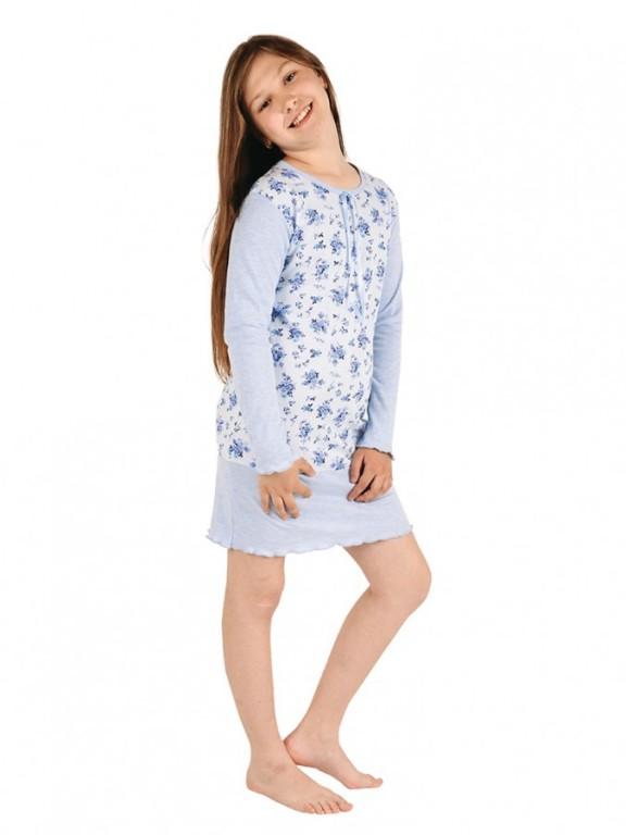 Dívčí noční košile AMÁLIE modrá