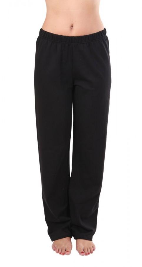 Dámské sportovní kalhoty ZLATUŠE černé  4126dad8c4