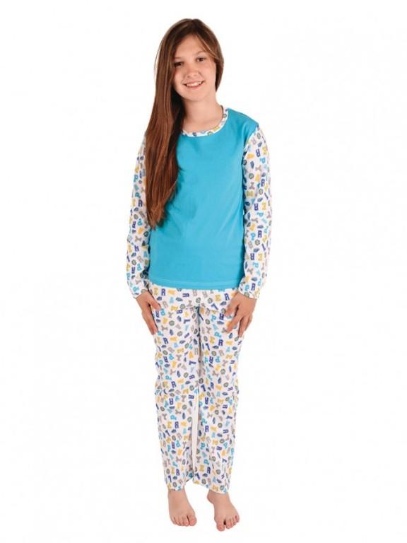 Dívčí pyžamo RONJA modré