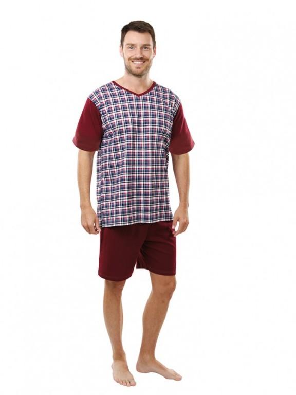 Pánské krátké pyžamo JAKUB 097