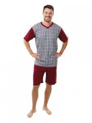 Pánské krátké pyžamo JAKUB 063 č.1
