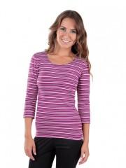 Dámské triko EBY P růžové č.1