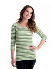 Dámské triko EBY P zelené č.1