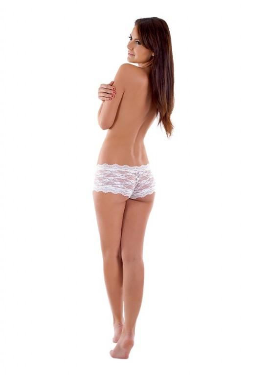 Francouzské kalhotky K8350 bílé