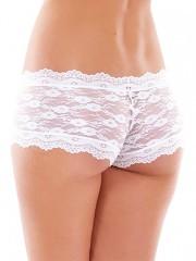 Francouzské kalhotky K8350 bílé č.2