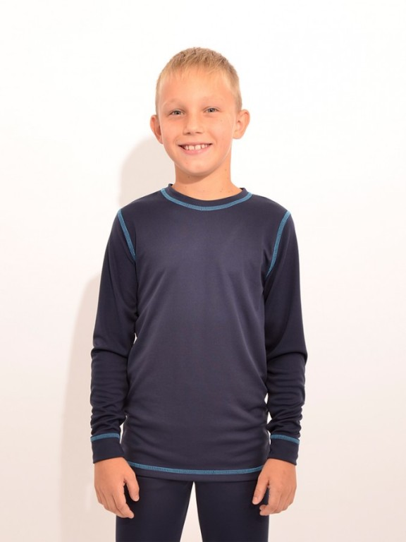 Dětské termo triko VENDA modré