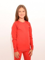 Dětské termo triko VENDA červené č.1