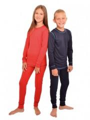 Dětské termo triko VENDA červené č.2
