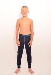 Dětské termo spodky SIMON modré č.2