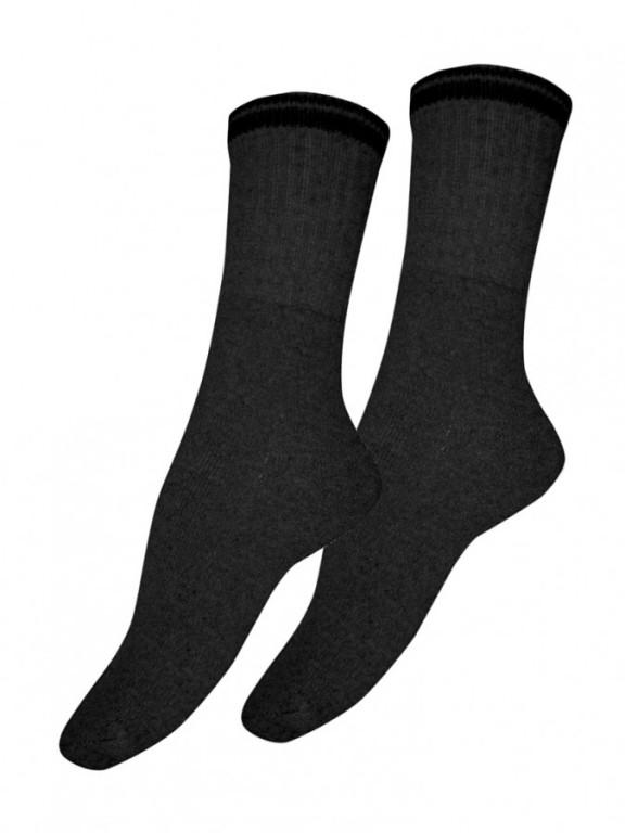Bavlněné froté ponožky SPORTEN modré 2 pack