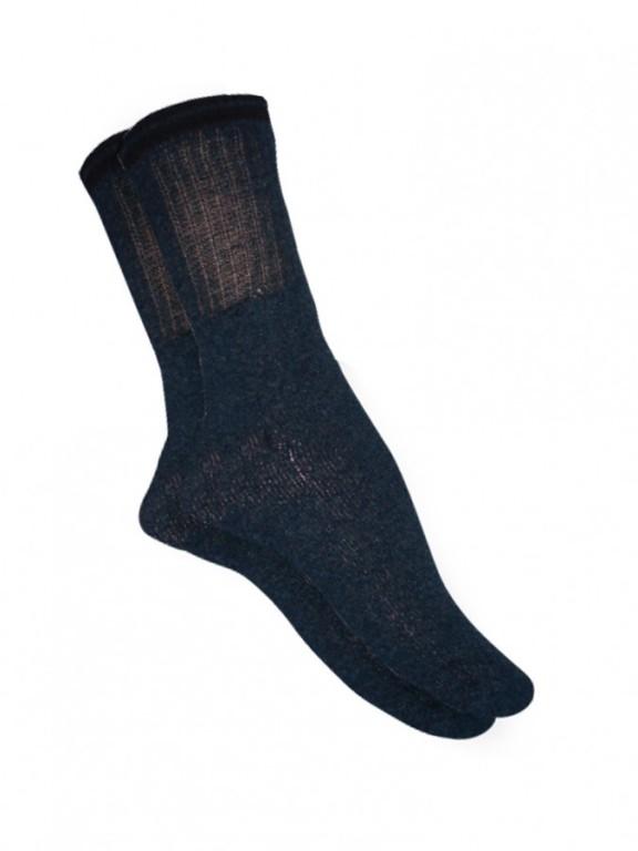 Bavlněné froté ponožky SPORTEN šedé 2 pack