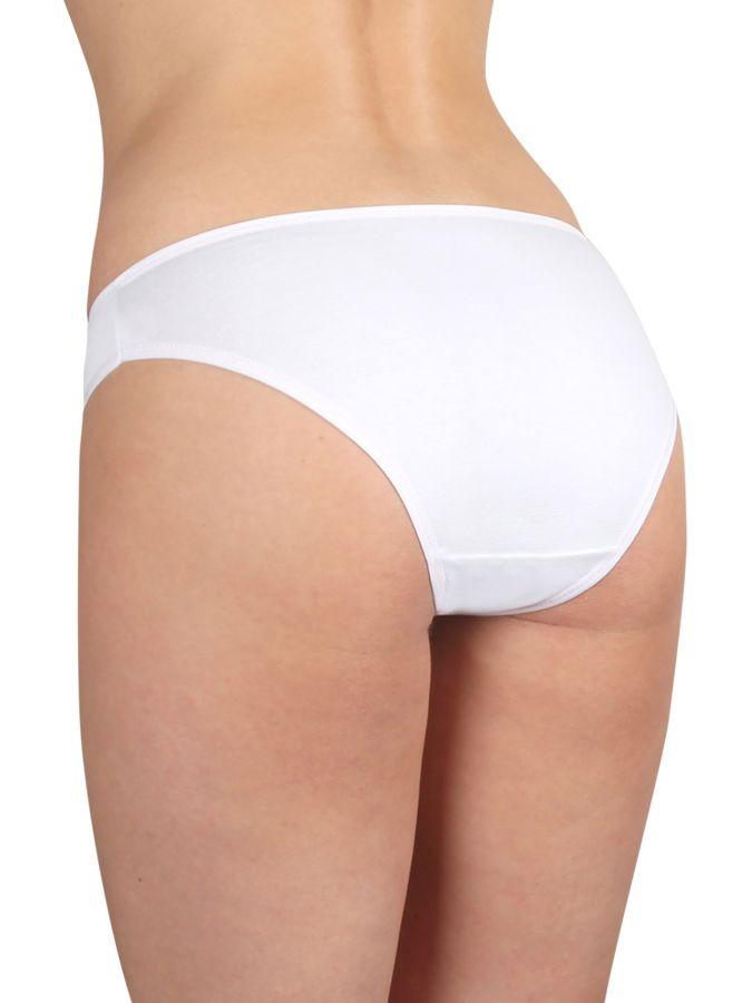 Dámské klasické kalhotky P108 bílé  6bc5f43551