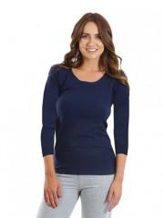 Dámské triko EBY tmavě modré č.1