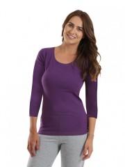 Dámské triko EBY fialové č.1
