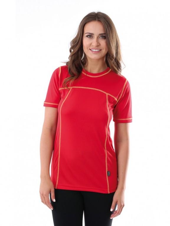 Dámské sportovní triko VELO D červené