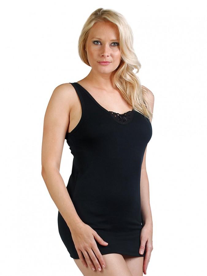 3d07f649772 Dámská košilka MARTA černá
