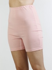 Dámské kalhotky s nohavičkou SAMA růžové č.1