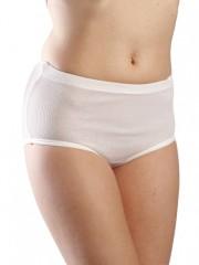 Dámské vyšší kalhotky BIBKA bílé č.1