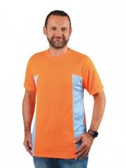 Pánské sportovní triko VELO P 104 oranžové č.1