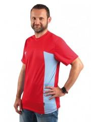 Pánské sportovní triko VELO P 008 červené č.1