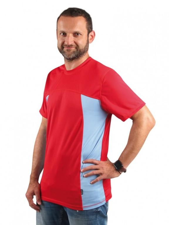 Pánské sportovní triko VELO P 008 červené