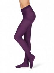 Neprůhledné punčochové kalhoty MAGDA 2340 violet č.1