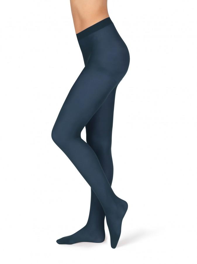 Neprůhledné punčochové kalhoty MAGDA 5 tmavě modré  dc68c86298