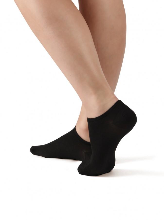Levně Kotníkové ponožky NELA 999 černé - NELA 999 25