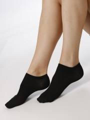 Kotníkové ponožky NELA 999 černé č.2