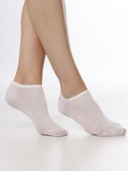 Kotníkové ponožky NELA 111 bílé č.2