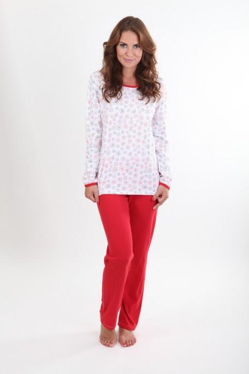 Dámské pyžamo P1406 listy