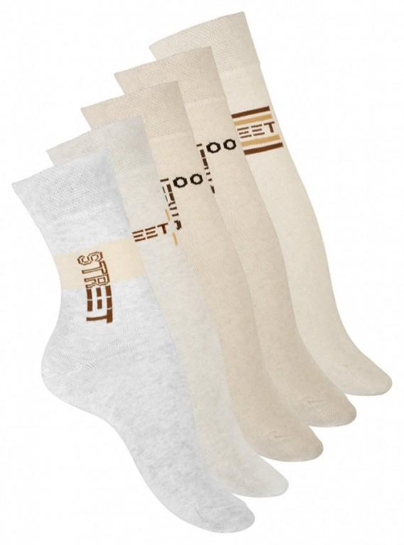 Dámské ponožky 4017 s jemným lemem