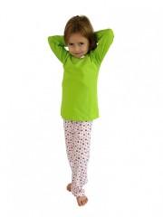 Dívčí pyžamo P 1414 jahůdky č.1