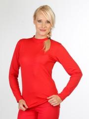 Dámské termoregulační triko ZUZANA COOLMAX červené č.1