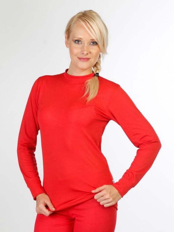 Dámské termoregulační triko ZUZANA COOLMAX červené